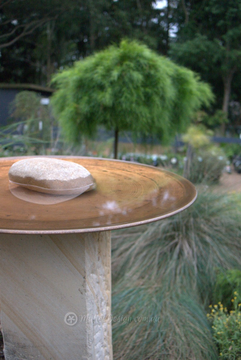 Mallee Spun Copper Bird Baths and Water Bowls on Display at Sydney ...